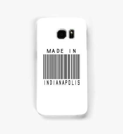 Made in Indianapolis Samsung Galaxy Case/Skin