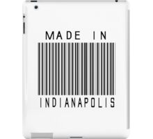 Made in Indianapolis iPad Case/Skin