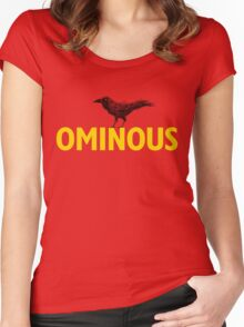 Ominous Crow Women's Fitted Scoop T-Shirt