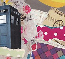 Doctor Who's TARDIS in Color Space by estellement