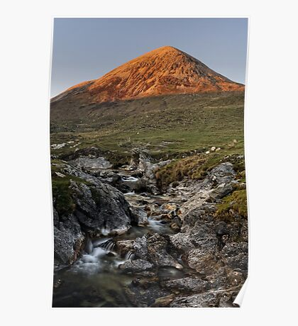 Cuillin Sunset, Isle of Skye Poster