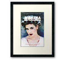 Marina and The Diamonds Electra Heart Framed Print