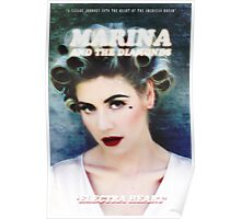 Marina and The Diamonds Electra Heart Poster