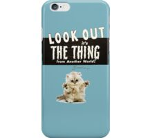 Hello Kitty Look Out THE THING! iPhone Case/Skin
