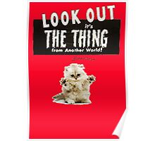 Hello Kitty Look Out THE THING! Poster