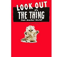 Hello Kitty Look Out THE THING! Photographic Print