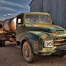 Old Austin Truck by KellyJo