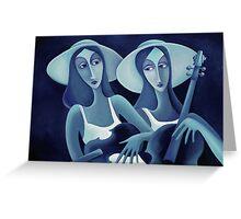 MUSICALE DE JOUR Greeting Card