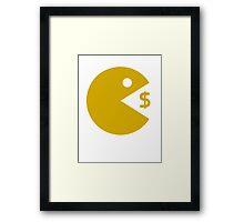 Manny Pacquiao Pac Man TME  Framed Print