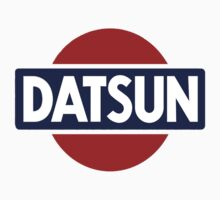 Old School Datsun Car Shirt, Sticker, Case, Skin, Poster, Mug Old School Classic by 8675309