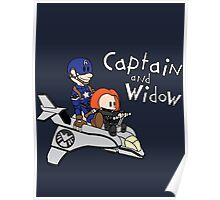 Captain and Widow Poster