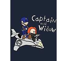 Captain and Widow Photographic Print