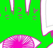 acid hand Sticker