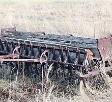 Antique Grain Seeder 1925 - 1926 JD VAN BRUNDT by Leslie van de Ligt