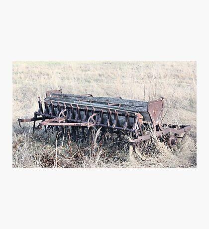 Antique Grain Seeder 1925 - 1926 JD VAN BRUNDT Photographic Print
