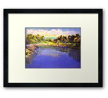 Angourie The Blue Pool Framed Print
