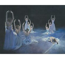 SERENADE IN VIOLET/Oil on canvas Photographic Print