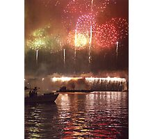 Rockets Red Glare Photographic Print