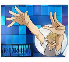 Tsukishima Kei - blocking Poster