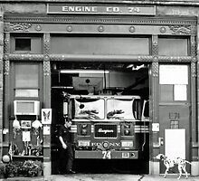 Engine Co. 74, FDNY by Alison Badgery