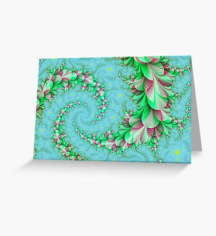 Eternal spring Greeting Card