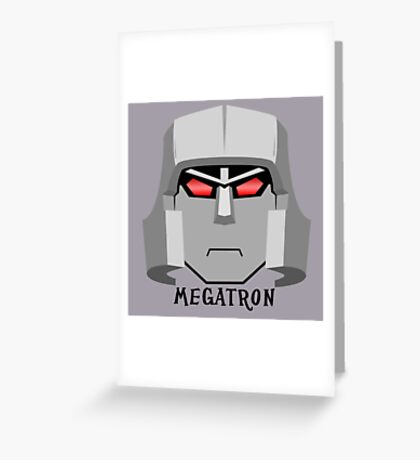 Megatron [G1] Greeting Card