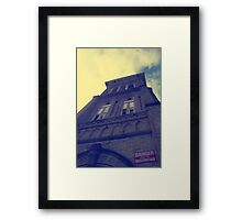 Alma College Framed Print