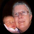 Izzi and Grandma Jan © by jansnow