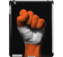 Flag of Austria on a Raised Clenched Fist  iPad Case/Skin