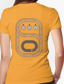 Thomas the Tank Engine Wooden Railways Womens Fitted T-Shirt