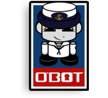 Sailor Hero'bot 2.1 Canvas Print