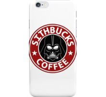 Sithbucks - May the Froth Be With You iPhone Case/Skin
