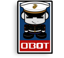 Marine Hero'bot 1.1 Canvas Print