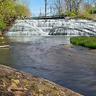 Indiana's Thistlewaite Falls by Kenneth Keifer
