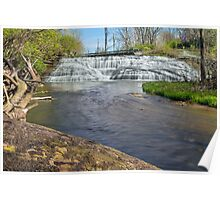 Indiana's Thistlewaite Falls Poster