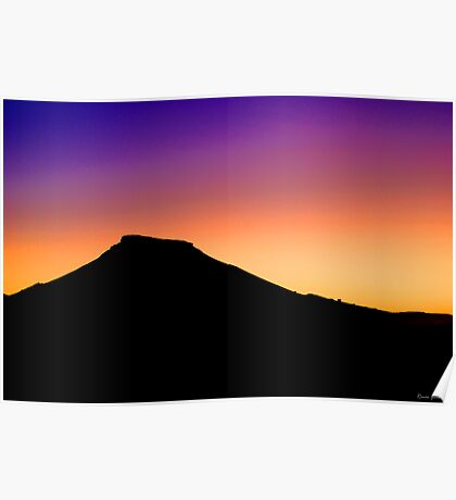 Painted Hills, South Australia Poster