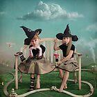 Young sorceress by Larissa Kulik