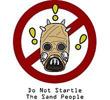 No Startling! Photographic Print