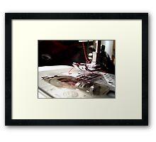 Red Thread Framed Print