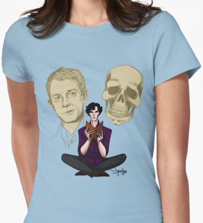 Sherlock & Friends Womens Fitted T-Shirt