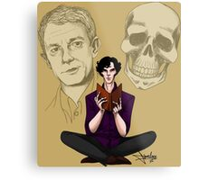 Sherlock & Friends Metal Print