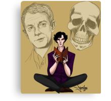 Sherlock & Friends Canvas Print