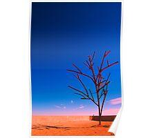 Metalic Tree Poster