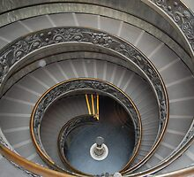 Spiral Stair case by Corrie Wharton