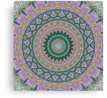 Tranquility Mandala Canvas Print