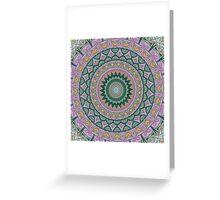 Tranquility Mandala Greeting Card