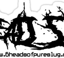 6head_slug - [deathcore_logo][black]  Sticker