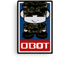 Army Hero'bot 2.1 Canvas Print