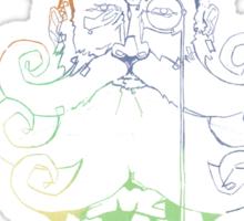 Beardo (Colour) Sticker
