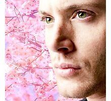 Dean Winchester, spring Photographic Print